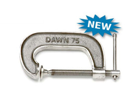 """Dawn 61153-CSS G-Clamp Stainless Steel Marine Grade 316 Cast 100mm (4"""")"""