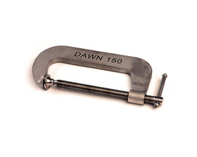 "Dawn 61155-FSS G-Clamp S/S Marine Grade 316 Fabricated 150mm (6"")"