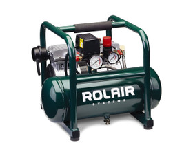 Rolair JC10 Air Compressor Ultra Quiet Oil Free 1HP