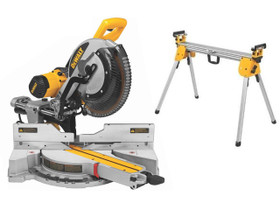 "DeWALT DWS780-XE Slide Compound Mitre Saw 305mm (12"") with Stand!"