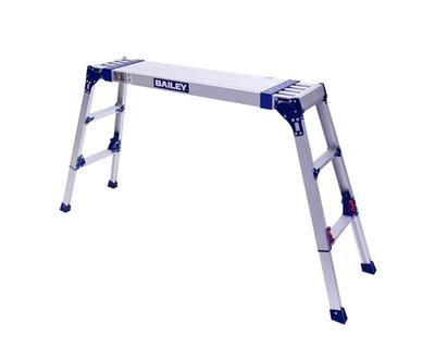 Bailey Xtenda Platform Ladder 0.9 - 1.5M Adjustable