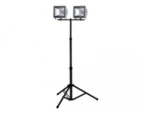 PowerDC UR200FL30WS Ultracharge Work Light 2x30W LED with 1.6m Tripod