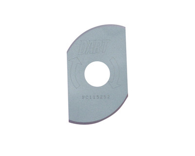 "Dart PC115252 Coolroom Panel Wing Cutter 115mm (4.5"") x 25mm x 2T"