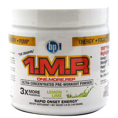 BPI The Original 1.M.R Lemon Lime: 28 Servings