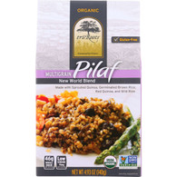 truRoots Rice Pilaf - Organic - New World Blend - 4.93 oz - case of 6