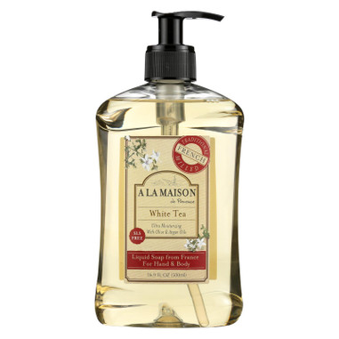 A La Maison French Liquid Soap White Tea - 16.9 fl oz