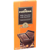 Perugina Chocolate Bar - Milk Chocolate - Hazelnuts - 3.5 oz Bars - Case of 12