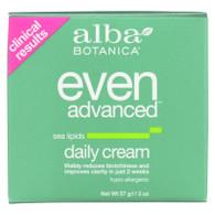 Alba Botanica Natural Even Advanced Daily Cream - 2 oz
