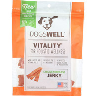 Dogswell Dog Treats - Vitality - Jerky - Chicken Breast - 4 oz - case of 12