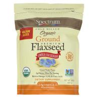 Spectrum Essentials Flaxseed - Organic - Ground - Premium - 24 oz