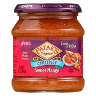 Pataks Chutney - Sweet Mango - Mild - 12 oz - case of 6