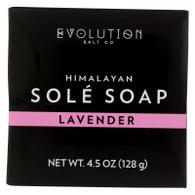 Evolution Salt Bath Soap - Sole - Lavender - 4.5 oz
