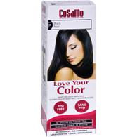 Love Your Color Hair Color - CoSaMo - Non Permanent - Black - 1 Count