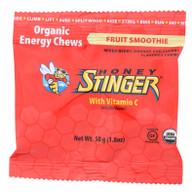 Honey Stinger Energy Chew - Organic - Fruit Smoothie - 1.8 oz - case of 12