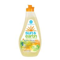 Sun and Earth Hyoallergenic Ultra Dishwashing Liquid - 13 fl oz