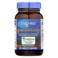 Earthrise Spirulina Gold Plus - 90 Tablets