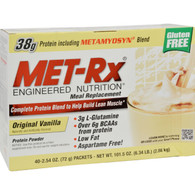 Met-Rx Meal Replacement - Vanilla - 40 Pack
