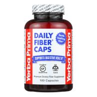 Yerba Prima Daily Fiber Caps - 625 mg - 180 Capsules