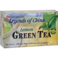 Uncle Lee's Legend of China Green Tea Lemon - 100 Tea Bags