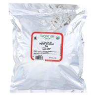 Frontier Herb Tea - Organic - Fair Trade Certified - Black - English Breakfast - Bulk - 1 lb
