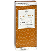 Deep Steep Body Lotion - Brown Sugar Vanilla - 6 oz