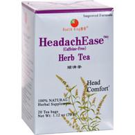 Health King HeadachEase Herb Tea - 20 Tea Bags