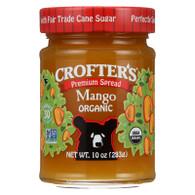 Crofters Fruit Spread - Organic - Premium - Mango - 10 oz - case of 6