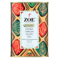 Zoe Olive Oil - Organic Extra Virgin - Case of 6 - 25.5 Fl oz.