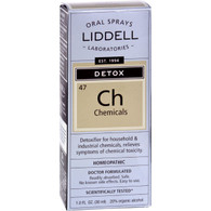 Liddell Homeopathic Chemical Detox Spray - 1 fl oz