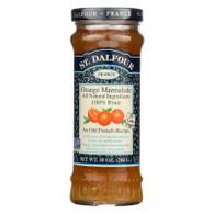 St Dalfour Fruit Spread - Deluxe - 100 Percent Fruit - Orange Marmalade - 10 oz - Case of 6
