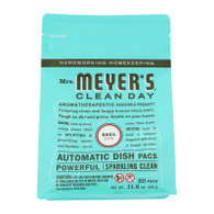 Mrs. Meyer's Auto Dishwash Packs - Basil - 12.7 oz