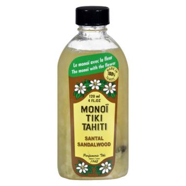Monoi Tiare Tahiti Santal Sandalwood Coconut Oil - 4 fl oz