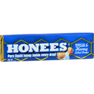 Honees Milk and Honey Filled Drops - Case of 24 - 1.5 oz