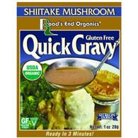 Road's End Organics Gravy Mix - Organic - Shiitake Mushroom - 1 oz - Case of 12