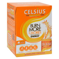 Celsius Sparkling Orange - 12 fl oz Each / Pack of 4