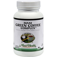 Maxi Health Kosher Vitamins Maxi Green Coffee Complex - 60 Capsules