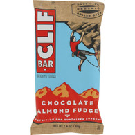 Clif Bar - Organic Chocolate Almond Fudge - Case of 12 - 2.4 oz