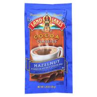 Land O Lakes Cocoa Classic Mix - Hazelnut and Chocolate - 1.25 oz - Case of 12