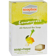 SoapBox Bar Soap - Elements - Refresh - Lemongrass - 5 oz