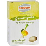 SoapBox Bar Soap - Elements - Refresh - Lemongrass - 5 oz