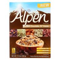Alpen Muesli Cereal - Dark Chocolate - Case of 12 - 11.8 oz.