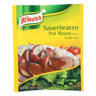 Knorr Recipe Mixes - Sauerbraten Pot Roast - Case of 12 - 2 oz.
