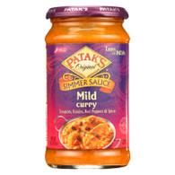 Pataks Simmer Sauce - Mild Curry - Mild - 15 oz - case of 6