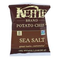 Kettle Brand Potato Chips - Sea Salt - 1.5 oz - case of 24