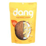 Dang Coconut Chips - Caramel Sea Salt - 3.17 oz - case of 12