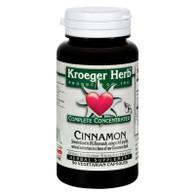 Kroeger Herb Cinnamon Complete Concentrate - 90 Vegetarian Capsules