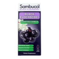 Sambucol Black Elderberry Syrup - Sugar Free - 4 oz