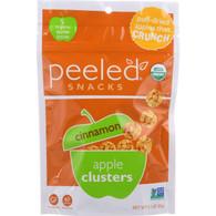 Peeled Snacks Apple Clusters - Organic - Cinnamon - 2.1 oz - case of 12