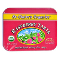 St Claire's Organic Raspberry Display Case - Case of 6 - 1.5 oz