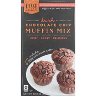 Cisse Muffin Mix - Fair Trade - Double Chocolate Chip - 16.65 oz - case of 6